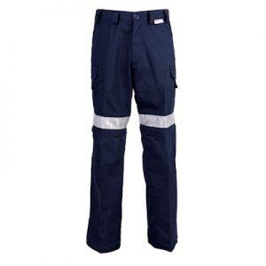 Hi-Vis Ventilated Pants Navy </br>(CW2-NVRA)