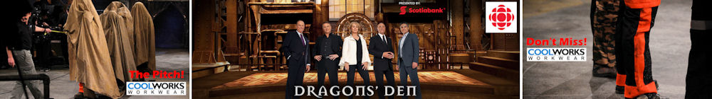 Coolworks on Dragon's Den