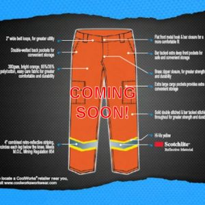 Mining Safety Pant</br>(CWK908OR)